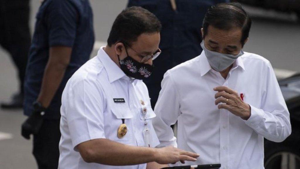 Jokowi Malah Minta Lockdown Tingkat RT-RW, PSBB Total Anies Baswedan Dibatalkan?
