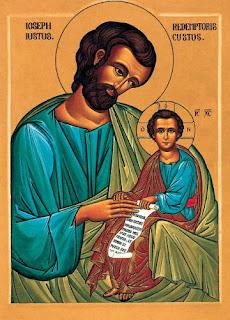 Joseph le Juste, Gardien du Rédempteur