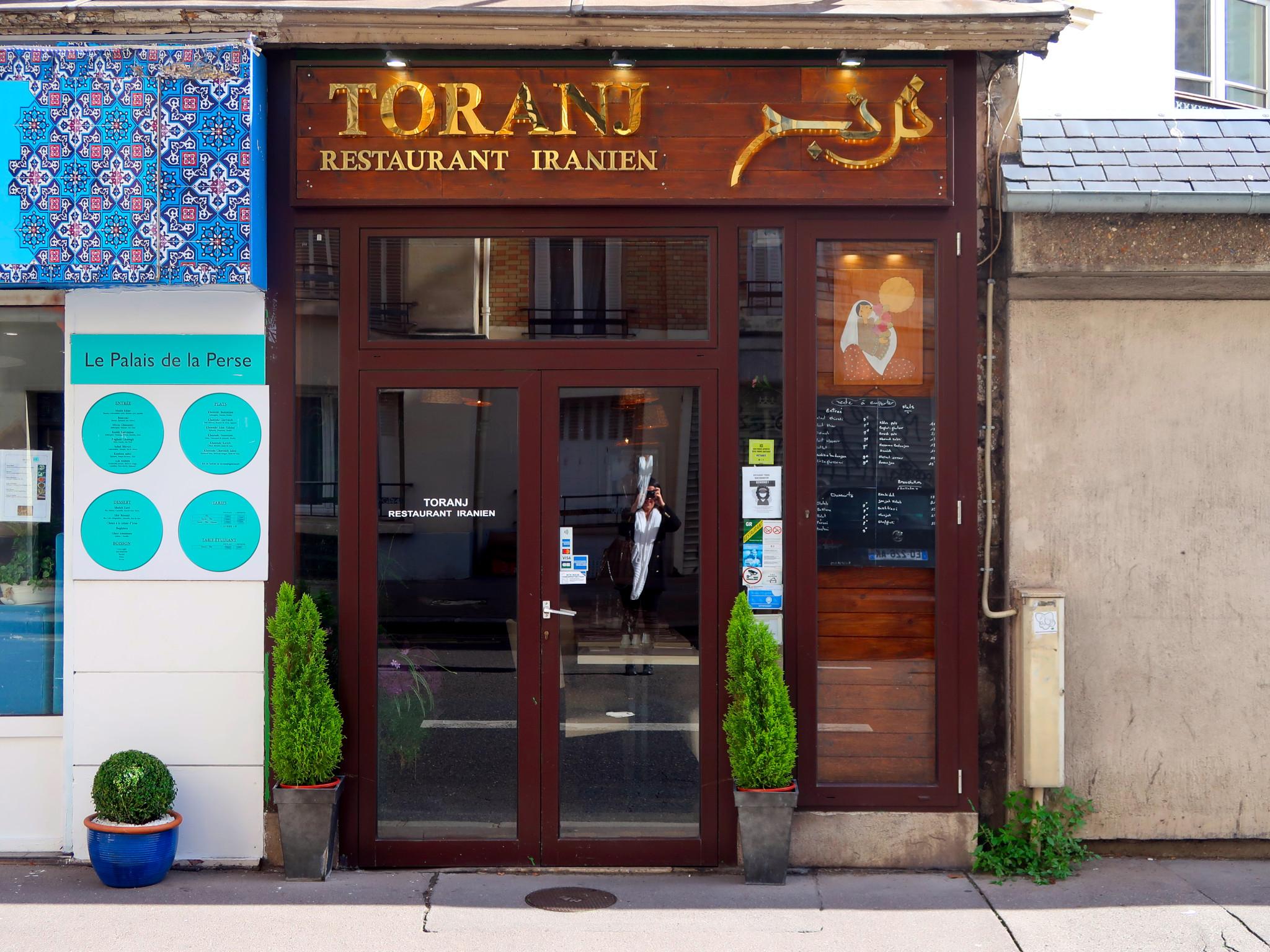 Meilleur restaurant Iranien Paris