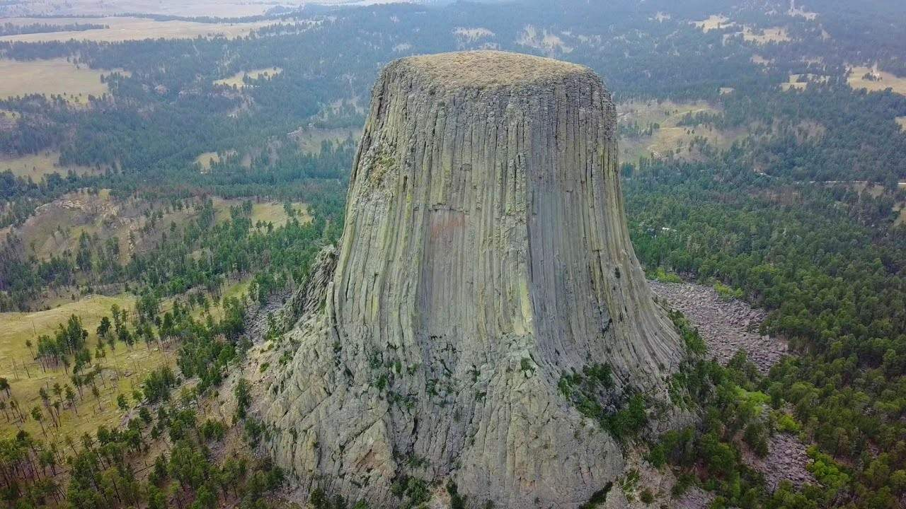 scientists solve the mystery of how the columns of devils tower formed