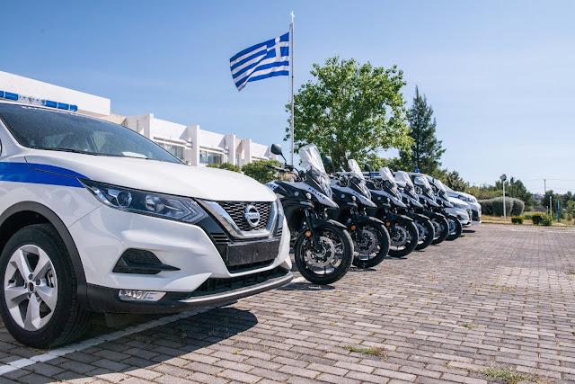 Με 20 νέα οχήματα ενισχύεται ο στόλος της ΕΛ.ΑΣ στην Πελοπόννησο