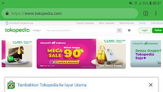 Cara mengganti nama toko di tokopedia dengan situs resmi