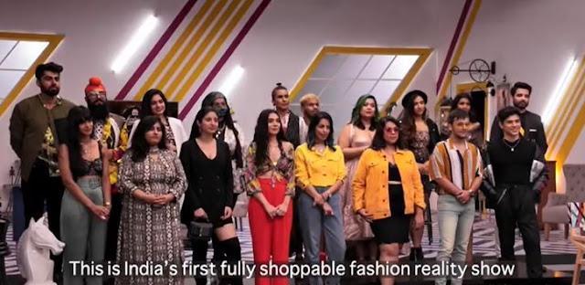 myntra fashion superstar contestants