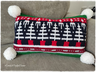cushion cover,crochet,mosaic crochet