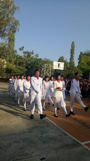 Pasukan Pengibar Bendera SMAN 11 Surabaya