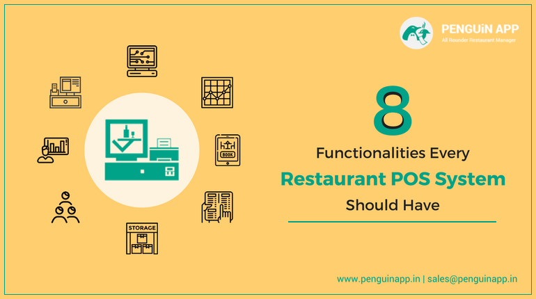 8 Functionalities Every Restaurant POS System Should Have