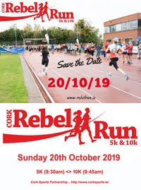 Popular 5k & 10k in Cork City - Sun 20th Oct 2019