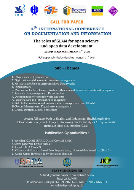 Poster Konferensi ICDI LIPI 4