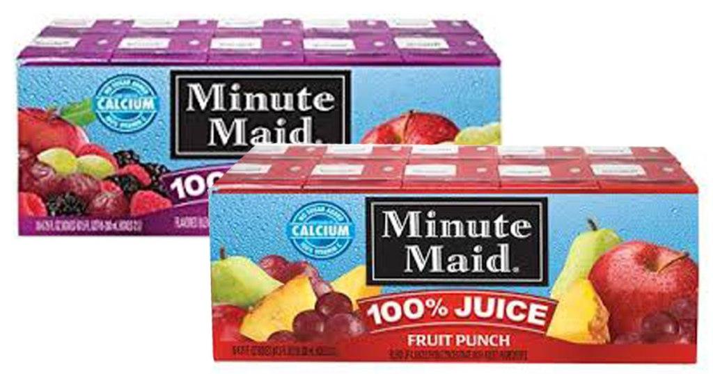 Steward Of Savings Minute Maid Juice Box 10 Pk Only 2