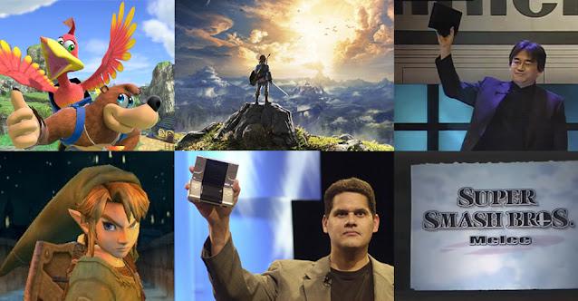 Top 10 Anúncios Nintendo E3