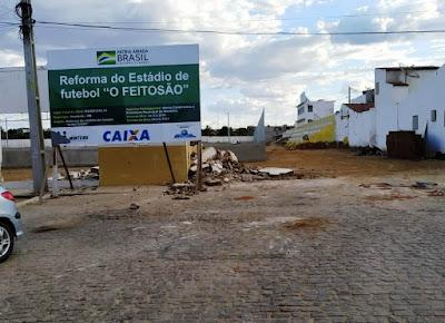 Estádio Feitosão já ganha forma para receber Campeonato Ruralzão 2019/2020