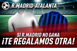 sportium promo champions Real Madrid vs Atalanta 16-3-2021