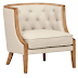 Stone and Beam Laurel Rounded Chair