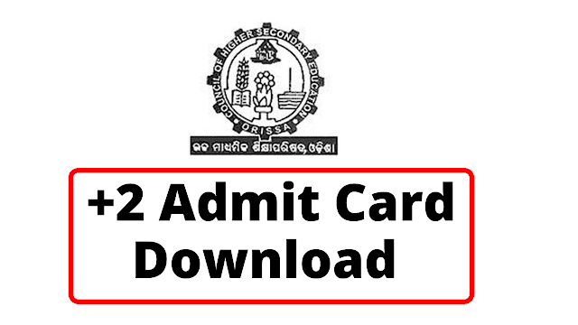 CHSE +2 Admit Card Download +2 Results 2021 Odisha