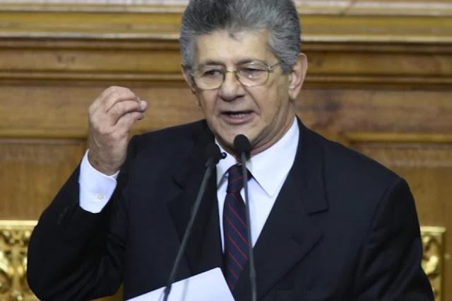 Ramos Allup: Estamos pagando los compromisos de Chávez y Maduro
