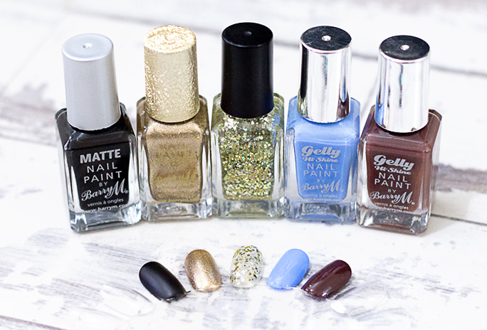 Barry M Nail Paint Shades [Winter 2015]