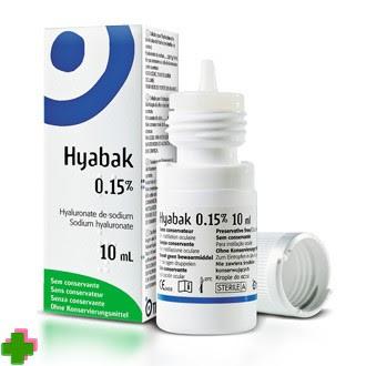 Hyabak 0,15% de 10 ml