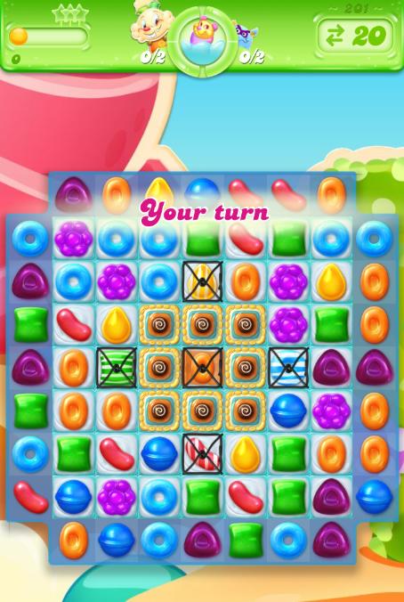 Candy Crush Jelly Saga 201