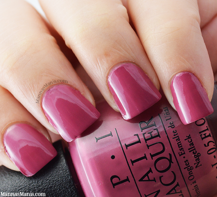 OPI Hawaii Just Lanai-ing Around, a mauve creme nail polish