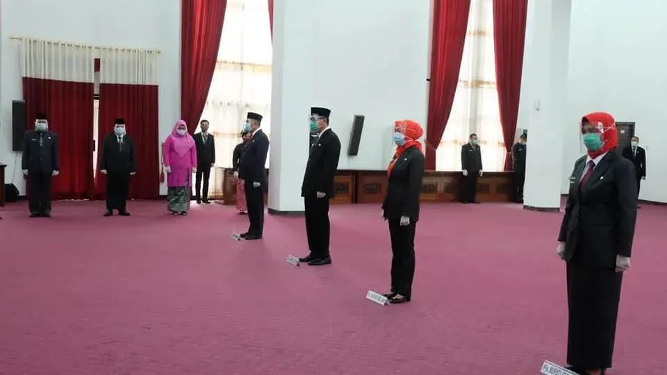 Pemilihan Kepala Daerah, Sutarmidji Lantik 4 Pjs Bupati di Kalbar