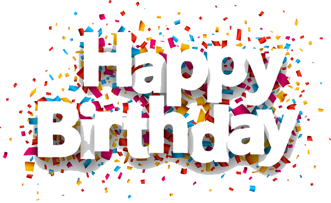 Paper Birthday Confetti, happy Birthday, Happy Birthday, text, balloon, happy Birthday Vector Images png free png
