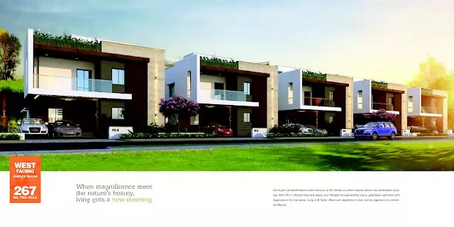 JB Infra Serene Villas Adibatla - JB Infra projects
