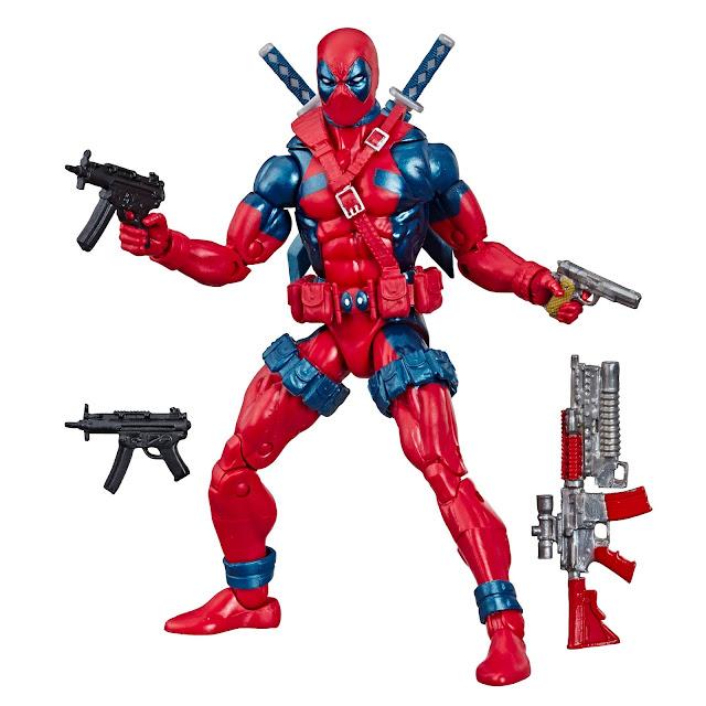 NYCC 2019 Marvel Legends Stan Lee, Retro Deadpool, Hasbro, Marvel80