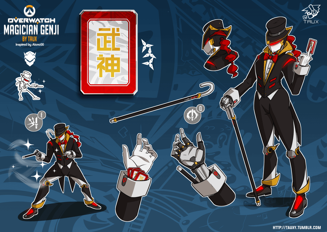 Magician Genji by Taux