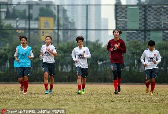Kiper Bola Cantik Dari Cina, Zhao Lina