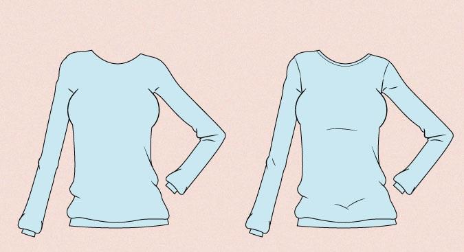 Contoh gambar sweater anime