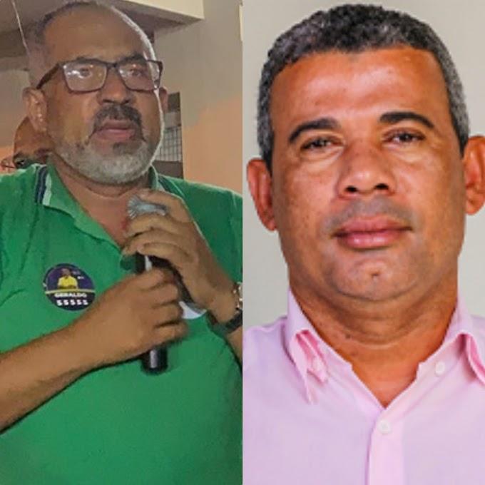 Geraldo Xavier chama Sandro do Vala de picareta, traidor e malandro durante caminhada do PSD