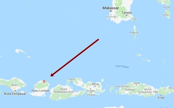 Penelusuran Korban Akibat Gempa 7 SR, Di Lombok NTB Mulai Dilakukan
