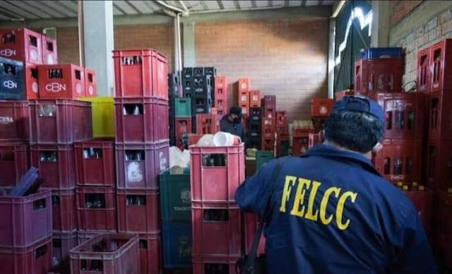 El Alto: Detienen a 18 personas vinculadas a falsificar cerveza; 5 dieron positivo a la prueba rápida Covid