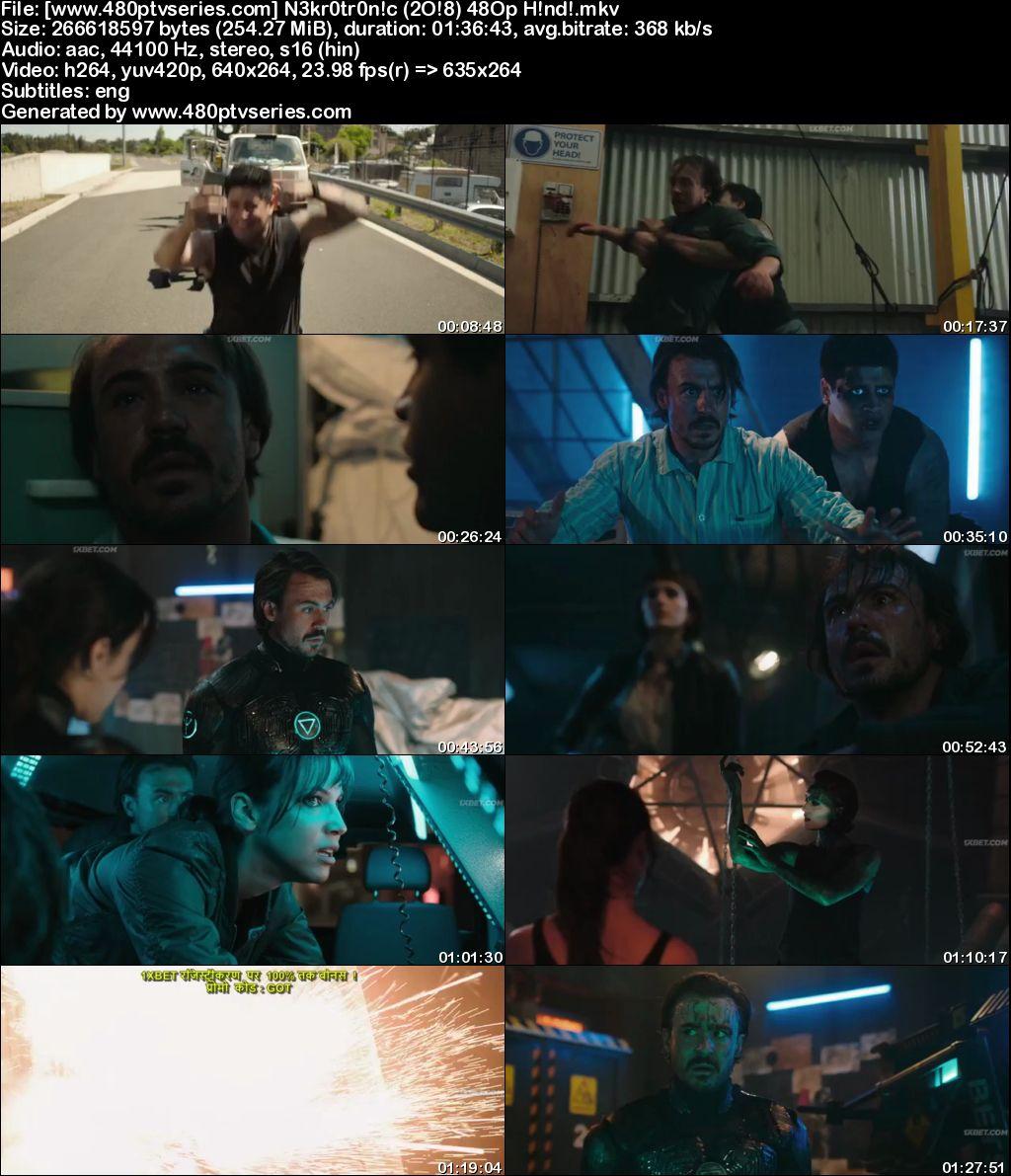 Nekrotronic (2018) 250MB Full Hindi Dubbed Movie Download 480p HDRip Free Watch Online Full Movie Download Worldfree4u 9xmovies