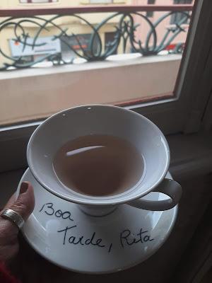 xícara de chá personalizada