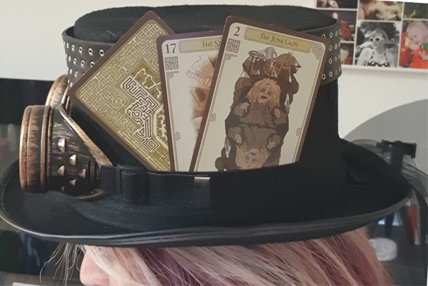 Labyrinth themed Steampunk Top Hat