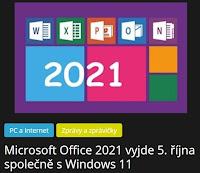 Microsoft Office 2021 vyjde 5. října společně s Windows 11 - AzaNoviny