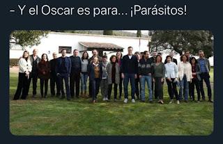 Memes políticos, el Óscar es para parásitos