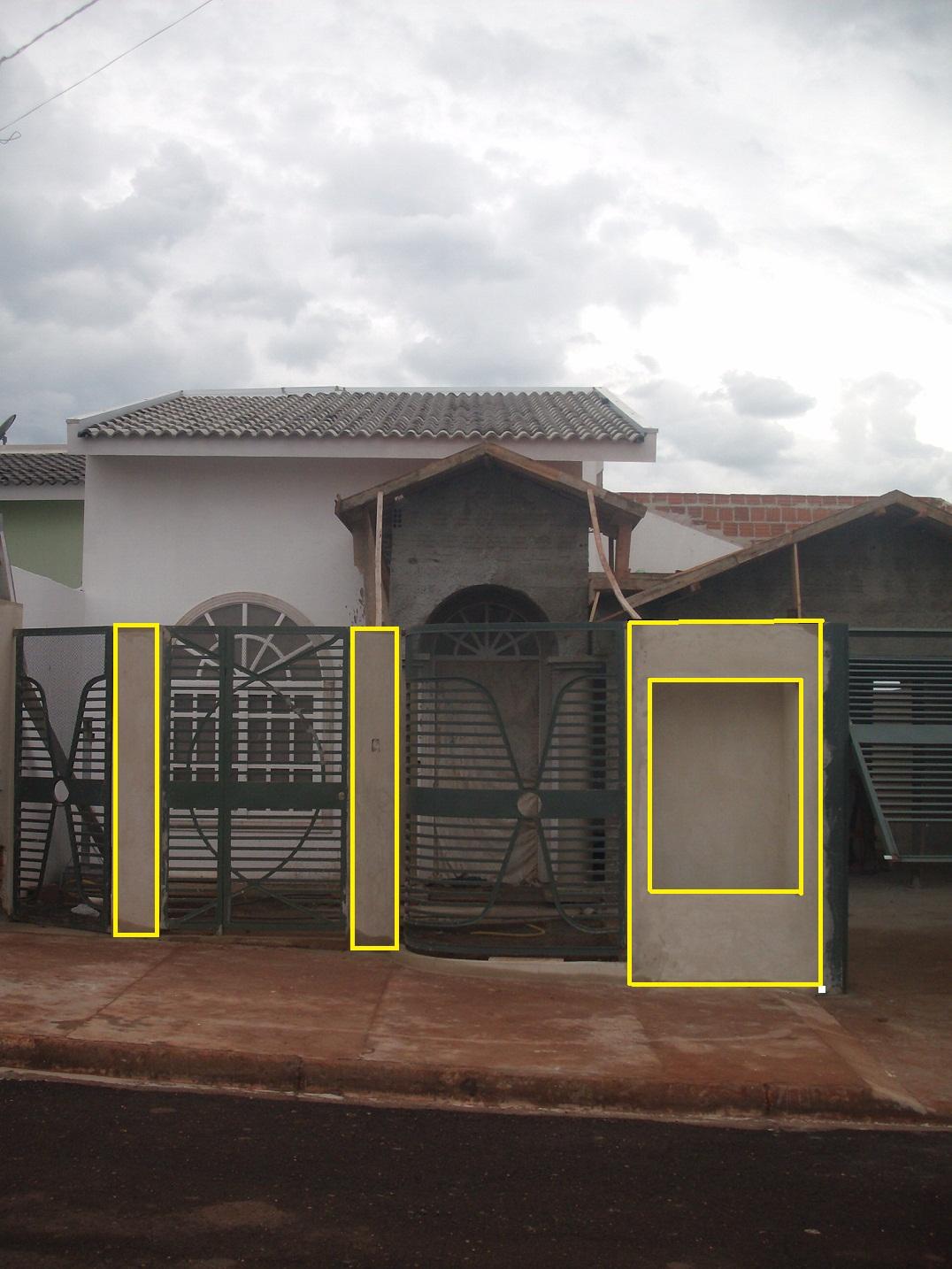 Loucuras De Uma Constru 231 227 O Garagem E Mosaico De Arenito