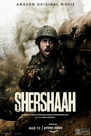 Shershaah (2021) 300MB Full Hindi Movie Download 480p WebRip