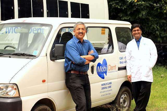 MobiDent_Vivek Madappa and Dr. Devaiah