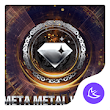 Dream metal world-APUS Launcher free theme