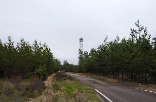 Святогірськ. Оглядова вежа науково-дослідного відділення «Святі гори»