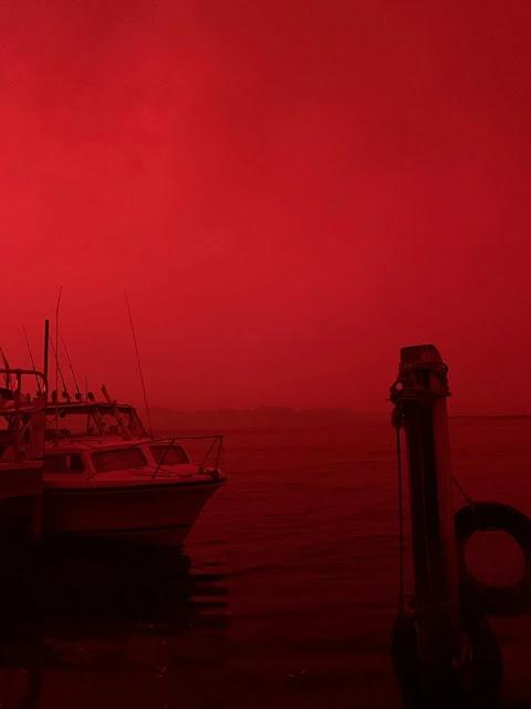 aquecimento-global-céu-vermelho
