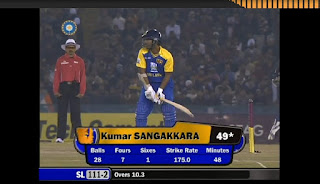 Kumar Sangakkara 59 vs India Highlights