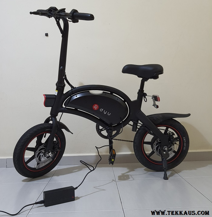 DYU D3+ Electric Bike Charging Time 3 to 4 Hours