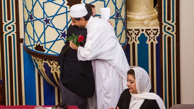 Warga Muslim dan Yahudi di Los Angeles Lakukan Buka Puasa Virtual Bersama.lelemuku.com.jpg