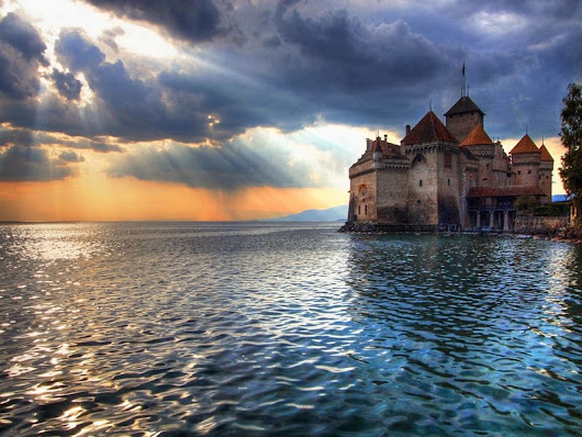 Chillon Castle, Switzerland  - THE NATURE OF THE WORLD
