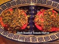 HERBED BAKED TOMATOES