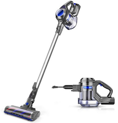 MOOSOO Cordless Vacuum Cleaner for Home